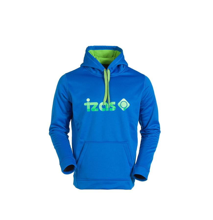 Camisola com Bolsos Izas® | Azul e Verde Claro
