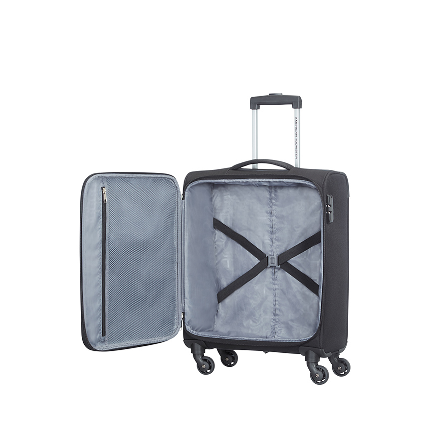 Mala American Tourister® HyperStream Spinner 55cm | Preto