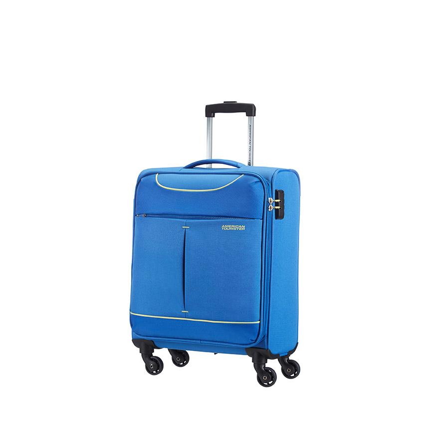 Mala American Tourister® Hyperfly Spinner 55cm   Azul