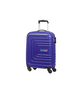 Mala American Tourister® SunsetSquare Spinner 55cm   Azul