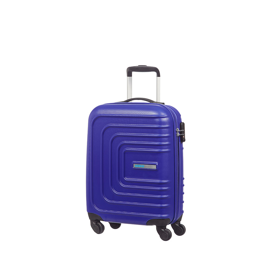 Mala American Tourister® SunsetSquare Spinner 55cm | Azul