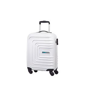 Mala American Tourister® SunsetSquare Spinner 55cm   Branco