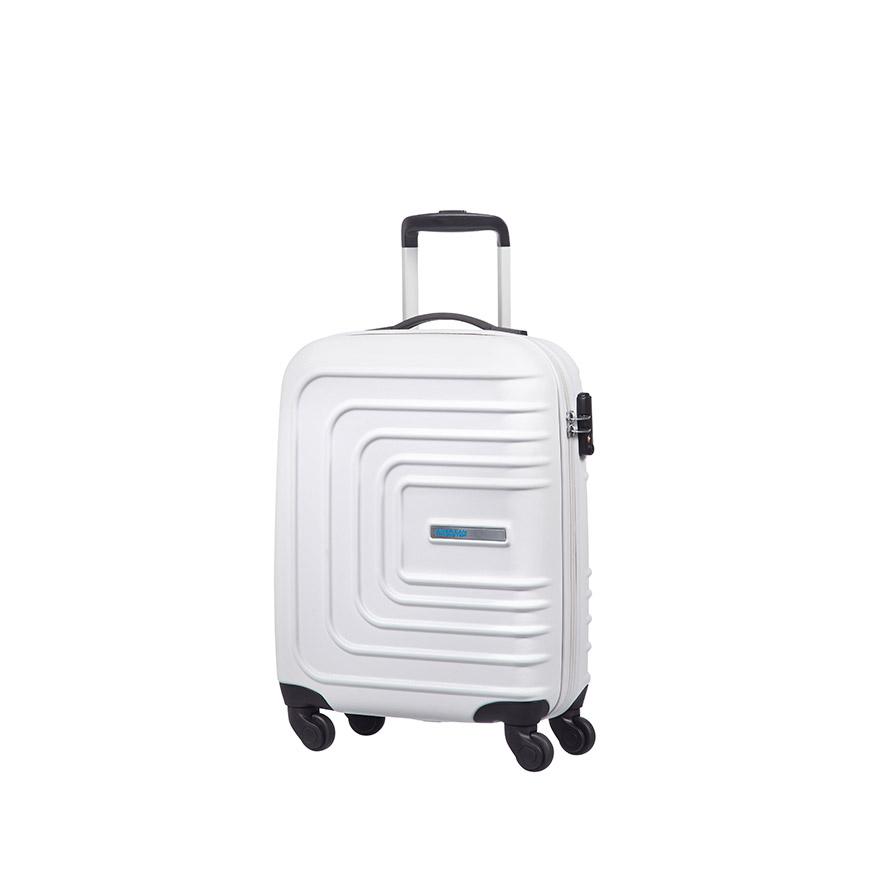 Mala American Tourister® SunsetSquare Spinner 55cm | Branco