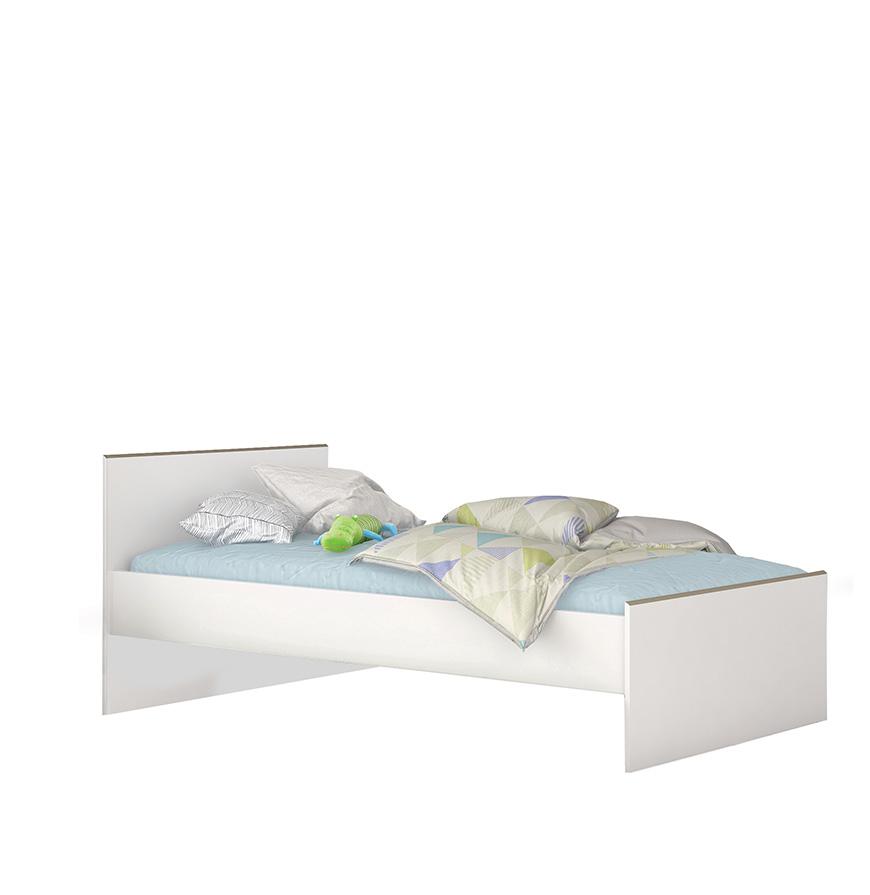 Cama Branca Kobe | 200X90