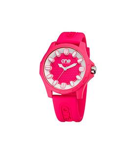 Relógio One® Colours Glow   Rosa