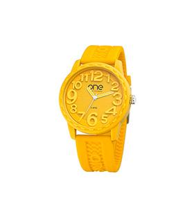 Relógio One® Scan   Amarelo