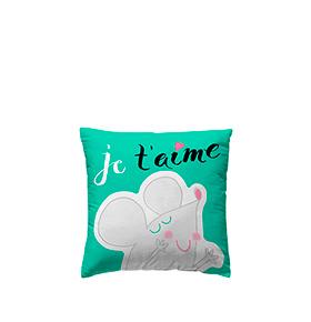 Capa de Almofada Pooch® Tea Up Je T´Aime