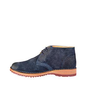 Bota Made in Italy® em Pele | Azul