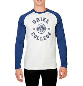 Camisola Oxford University®   Azul e Branco