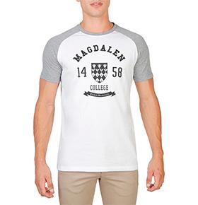 T-shirt Magdalen Oxford University® | Cinza