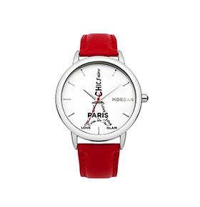 Relógio Morgan® Vermelho | M1232R
