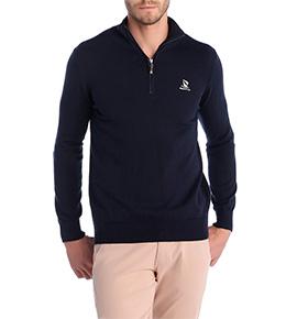 Camisola com Cotoveleiras Giorgio Di Mare® | Azul