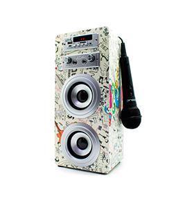 Coluna JoyBox® com Bluetooth e Microfone | Guitar