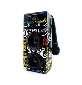 Coluna JoyBox® com Bluetooth e Microfone | Music