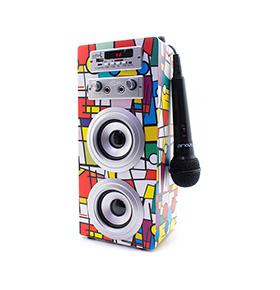 Coluna JoyBox® com Bluetooth e Microfone | Picasso