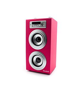Coluna JoyBox® com Bluetooth | Rosa