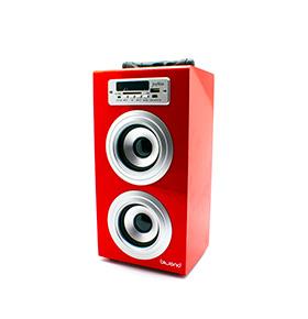 Coluna JoyBox® com Bluetooth | Vermelho