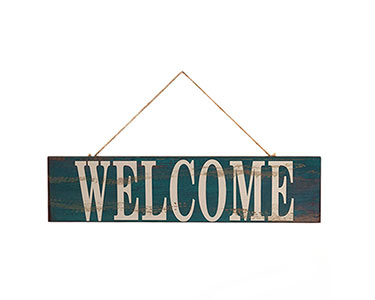 Letreiro Decorativo | Welcome