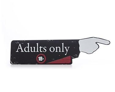 Quadro Dedo Indicador | Adults Only