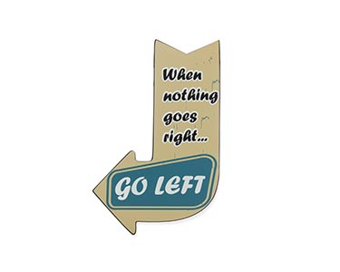 Seta Decorativa Vintage | Go Left