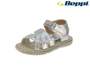 Sandálias Casuais Beppi® For Kids | Prateado