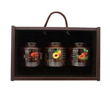 Cabaz com 3 Produtos Gourmet | Casa da Prisca®