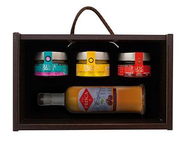 Cabaz com 4 Produtos Gourmet | Casa da Prisca®