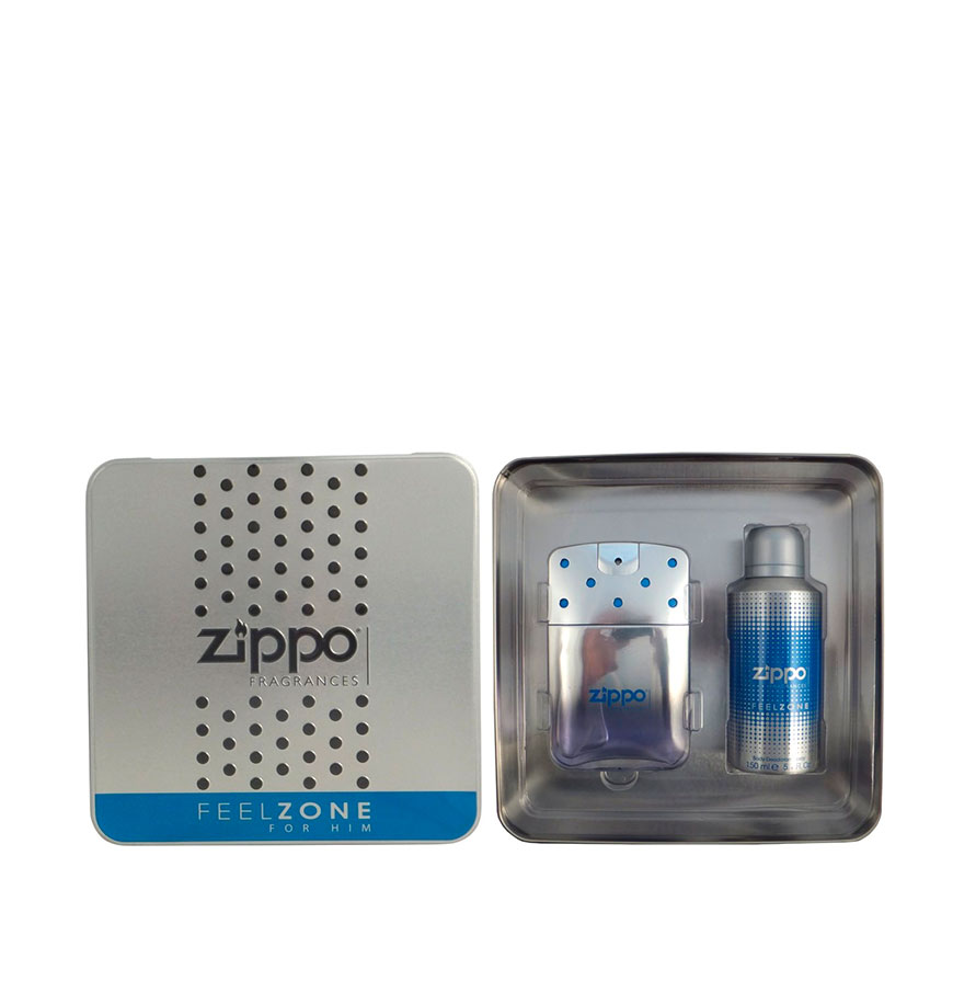 Perfume Zippo Feelzone | Eau De Toilette + Body Deodorant Spray
