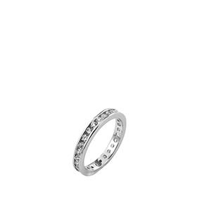 Anel Rhea® Basic Cristal Silver