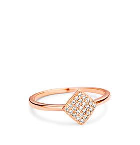 Anel Rhea® Cristal Gold | Losango