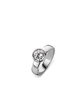 Anel Rhea® Solitário | Silver