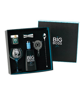 Pack Gin Big Boss® Dry Premium   5 peças