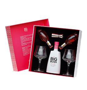 Pack Gin Big Boss® Dry Premium   Copos & Água Tónica