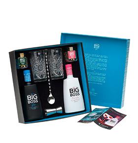Pack Gin Big Boss® DUO   Dry Premium & Pink Floral