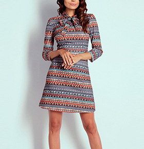 Vestido Naoko® Classico | Índia