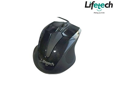 Rato Óptico Sky Wired Cinza | Lifetech®