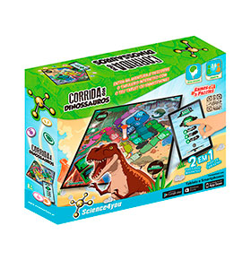 Science4you® Corrida de Dinossauros
