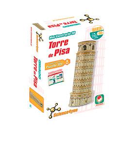 Science4you® Mini Construção 3D | Torre Pisa