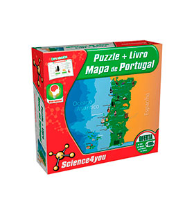 Science4you® Puzzle | Mapa de Portugal