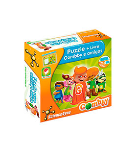 Science4you® Puzzle | Gombby e os Amigos PT