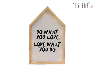Quadro Luminoso Do What You Love - Love What you do