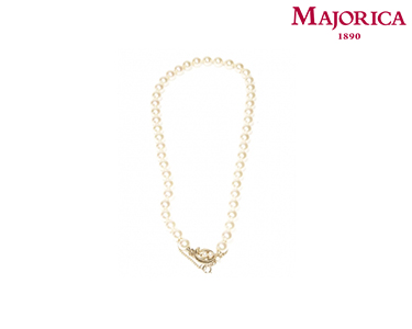 Colar Majorica® Feather com Pérolas