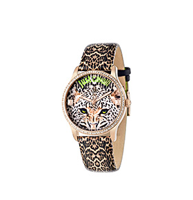Relógio Just Cavalli® Leo Tiger | Dourado