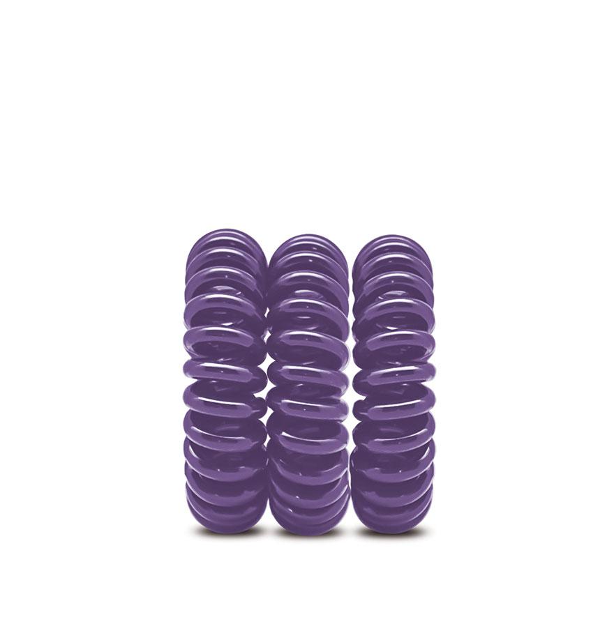 Pack de 3 Elásticos para Cabelo Italian Design® | Lilás