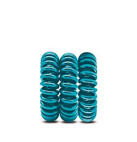 Pack de 3 elásticos para Cabelo Italian Design® | Azul