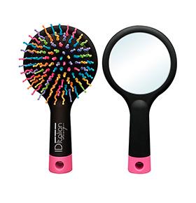 Escova com Espelho Italian Design® | 2 em 1