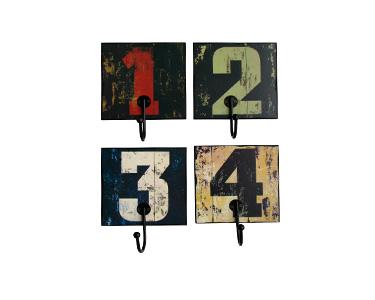 Cabides Decorativos Numbers