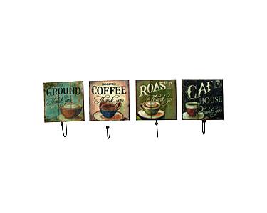 Cabides Decorativos Coffee