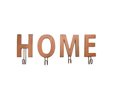 Cabide Decorativo Rust Home