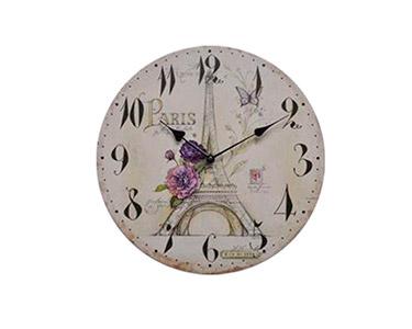 Relógio Decorativo de Parede Beautiful Paris 34